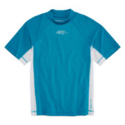 ZeroXposur® Grommet Rash Guard - Boys 4-7
