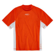 ZeroXposur Grommet Rash Guard – Boys 4-7