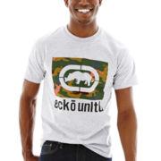 Ecko Unltd.® Camo Fill Silkscreen Tee