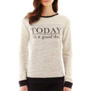MNG by Mango® Long-Sleeve Good Day Sweatshirt