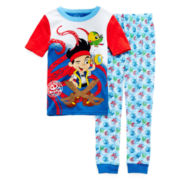 Disney Collection 2-pc. Jake Pajama Set - Boys 2-10