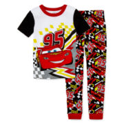 Disney Collection 2-pc. Cars Pajama Set – Boys 2-10