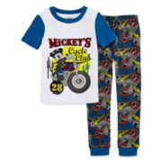 Disney Collection 2-pc. Mickey Mouse Pajama Set - Boys 2-10