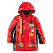 Disney Collection Cars Rain Jacket – Boys 2-10