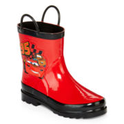 Disney Collection Cars Rain Boots – Boys