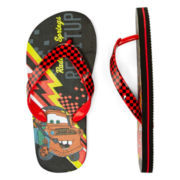 Disney Collection Cars Flip Flops - Boys