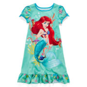 Disney Collection Ariel Nightshirt – Girls 2-10