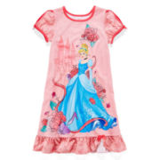 Disney Collection Cinderella Nightshirt - Girls 2-10