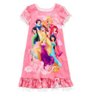 Disney Collection Princess Nightshirt – Girls 2-10