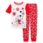 Disney Collection 2-pc. 101 Dalmatian Pajama Set - Girls 2-10