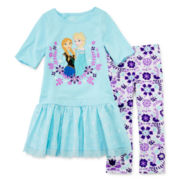 Disney Collection Frozen Dress Set - Girls 2-10
