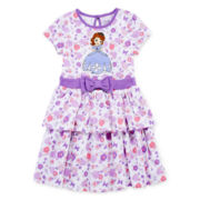 Disney Collection Sofia the First Dress - Girls 2-10