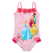 Disney Collection Princess Swimsuit – Girls 2-10