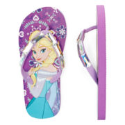 Disney Collection Frozen Flip Flops - Girls