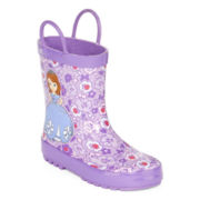 Disney Collection Sofia the First Rain Boots – Girls
