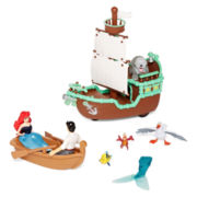 Disney Collection Little Mermaid Boat Set