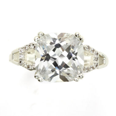 jcpenney.com | City X City White Cubic Zirconia Halo Ring