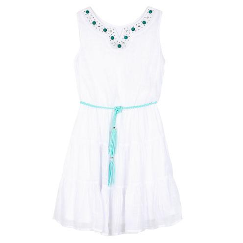 Byer California Sleeveless Fit & Flare Dress - Big Kid Girls