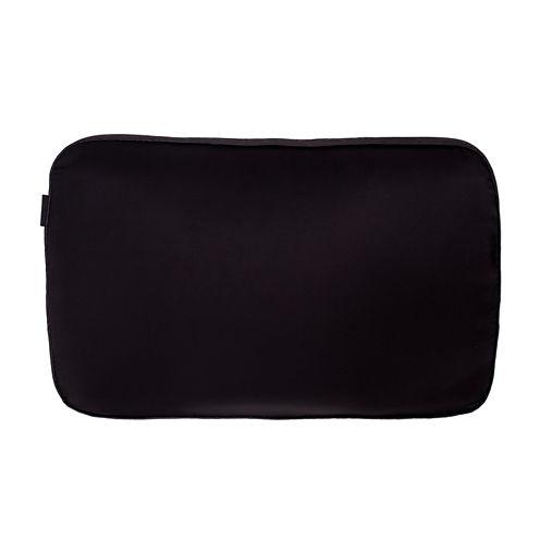 NIGHT Pillow with TriSilk Anti-Aging Pillowcase and tonal Woodgrain Border