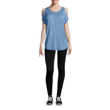 jcpenney.com | City Streets Cold Shoulder Short Sleeve Tee or Seamless Leggings