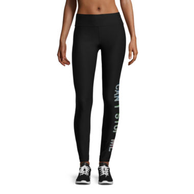 jcpenney.com | Xersion Pattern Jersey Graphic Leggings