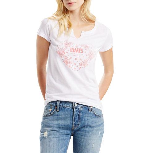 Levi's® Short Sleeve Crew Neck Graphic T-Shirt