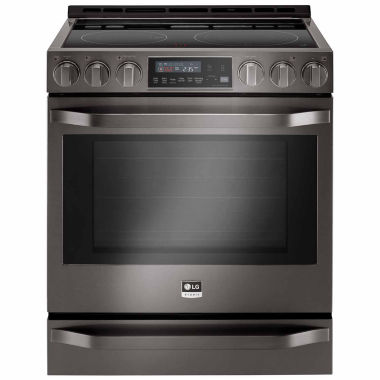 jcpenney.com | LG 6.3 cu.ft. Electric Slide-in Range with ProBake Convection™