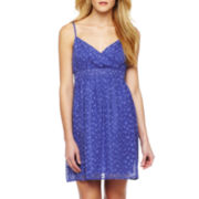 mac + jac Polka Dot Chiffon Dress
