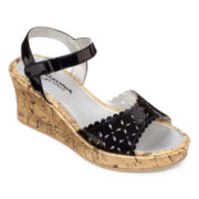 Arizona Cindy Girls' Wedge Sandals - Little Kids