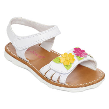jcpenney.com | Okie Dokie® Harmony Open-Toe Girls Strap Sandals- Toddler