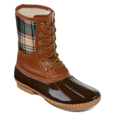 jcpenney.com | Henry Ferrera Mission 100 Plaid Rain Boots