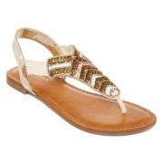 Arizona Oliver Beaded Sandals