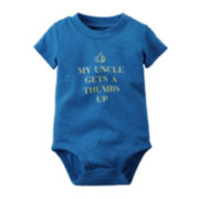 Carter's® Short-Sleeve Uncle Slogan Bodysuit - Baby Boys newborn-24