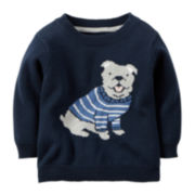 Carter's® Dog Sweater - Baby Boys newborn-24m