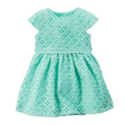 Carter's® Short-Sleeve Lace Dress - Baby Girls newborn-24m