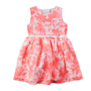 Carter's® Sleeveless Floral Print Dress - Baby Girls newborn-24m