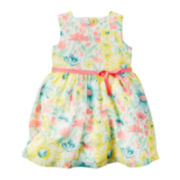 Carter's® Sleeveless Floral Dress - Baby Girls newborn-24m