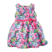 Carter's® Sleeveless Floral Crepe Dress - Baby Girls newborn-24m