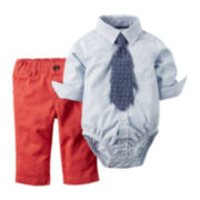 Carter's® Boy 3-pc. Bodysuit and Pant Set - Baby Boys newborn-24m