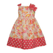 Bonnie Jean® Sleeveless Butterfly Sundress - Toddler Girls 2t-4t