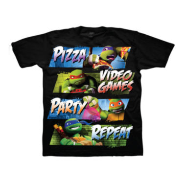 jcpenney.com | Teenage Mutant Ninja Turtles Pizza Party Tee - Boys 8-20
