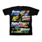 Teenage Mutant Ninja Turtles Pizza Party Tee - Boys 8-20