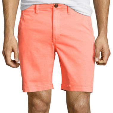"jcpenney.com | Arizona Flex Surfer Prep 8½"" Inseam Flat-Front Shorts"