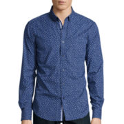 American Heritage Leaf Print Woven Shirt
