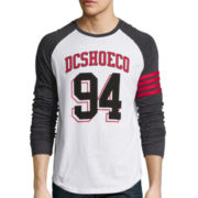 DC Shoes Co® Varsity Blues Long-Sleeve Knit T-Shirt