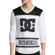 DC Shoes Co® Hat Trick Long-Sleeve Knit T-Shirt