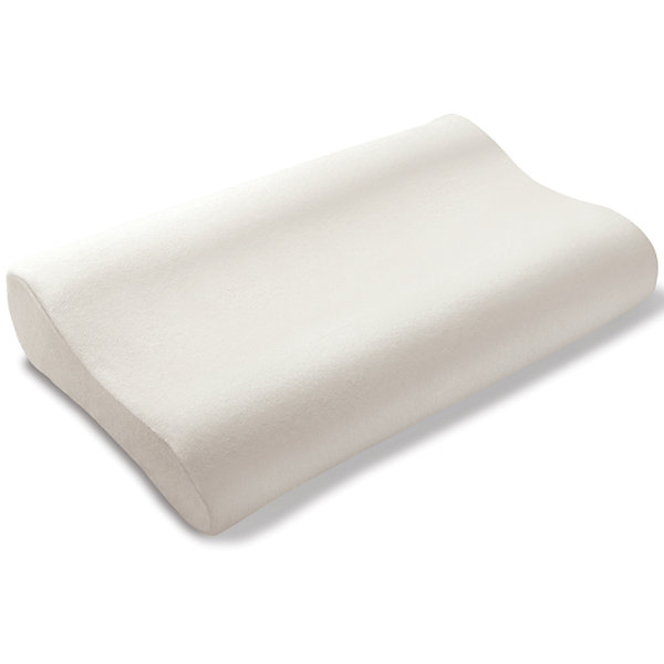 Cradling Comfort Elite Traditional Memory Foam Pillow : Comfort Cradle Plus Contour-Cut Memory Foam Pillow - JCPenney