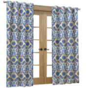 Waverly® Sun-n-Shade Santa Maria Indoor/Outdoor Grommet-Top Panel