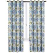 Kings Tuban Grommet 2-Pack Curtain Panels