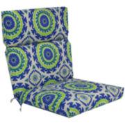 Outdoor Oasis™ Suzani Swirl Outdoor Chair Cushion